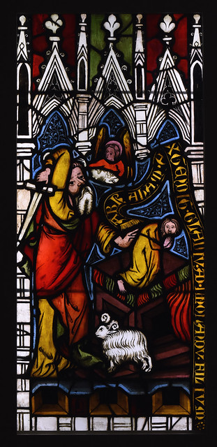 Münster, Westfalen, Landesmuseum, stained glass from Kloster Arnstein, 1360-5