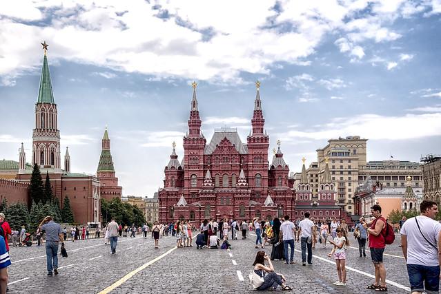 Mosca-La Piazza Rossa...
