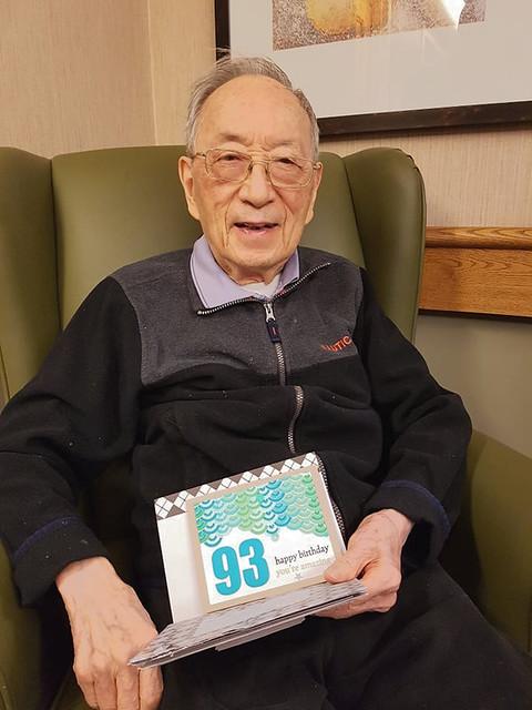Yeye's 93rd birthday