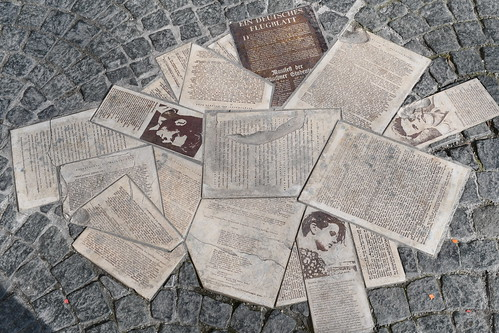 White Rose Memorial in Geschwister-Scholl Platz. From 10 Places Where History Comes Alive in Munich
