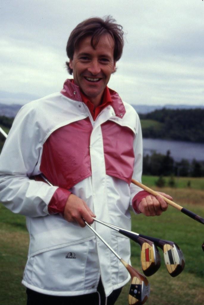 Golfproffen på Sommersetra (ca. 1987)