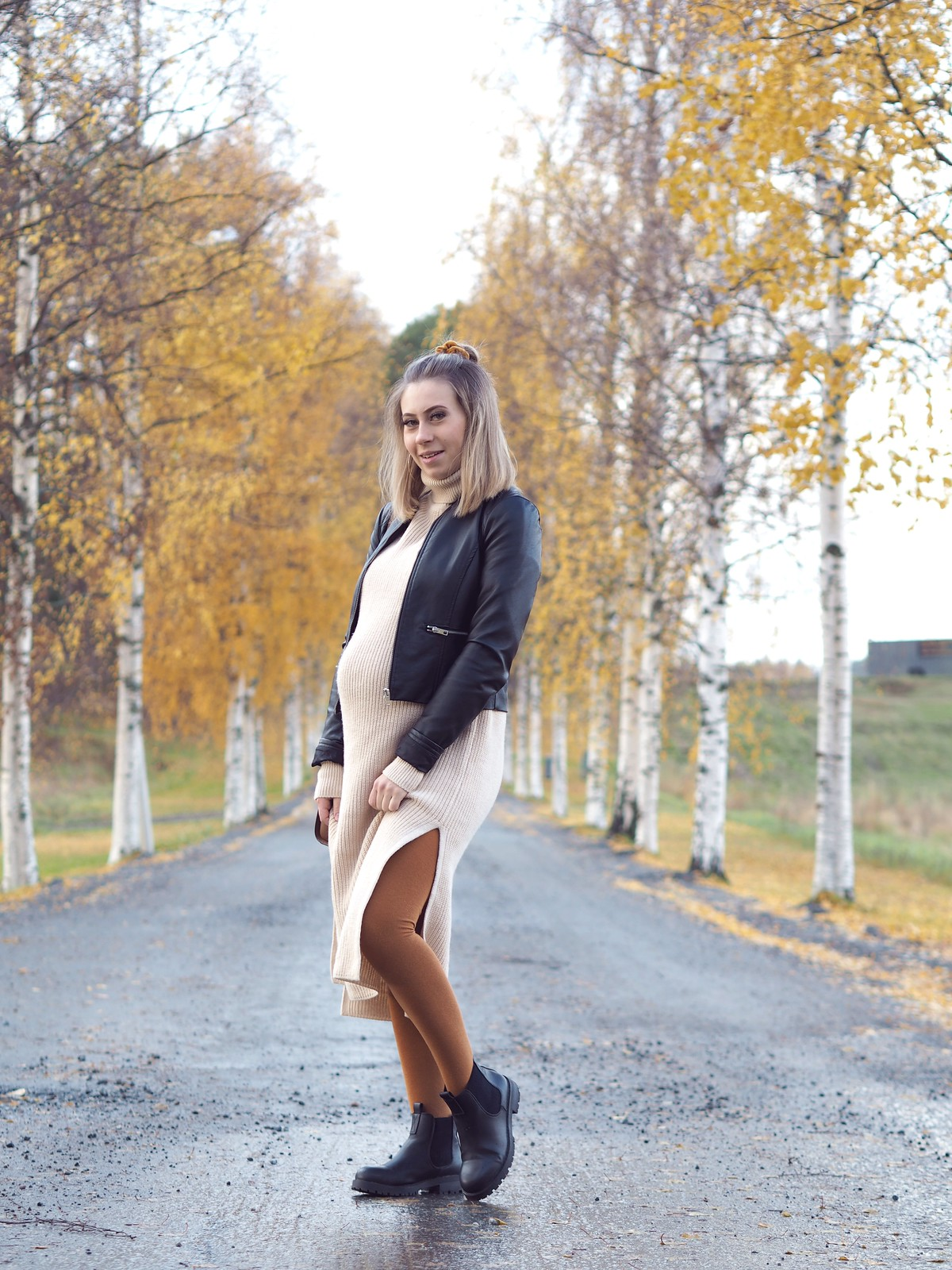autumn pregnancy style