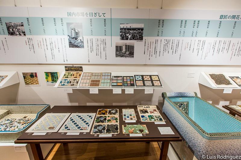 Historia de los azulejos de Tajimi
