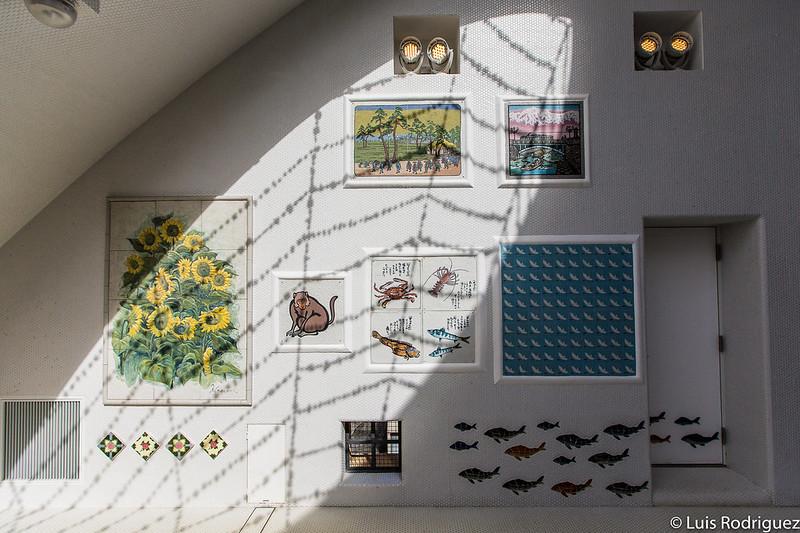 Mosaicos obra del artista Masubun Seitosho