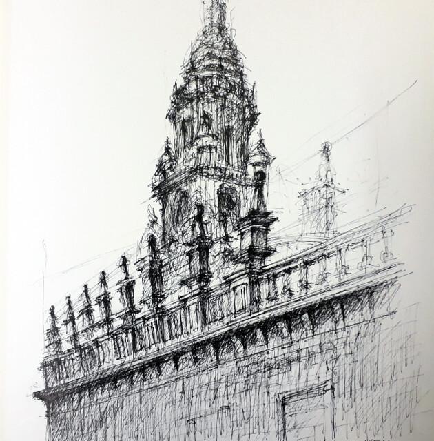 C8-21.- Catedral de Santiago
