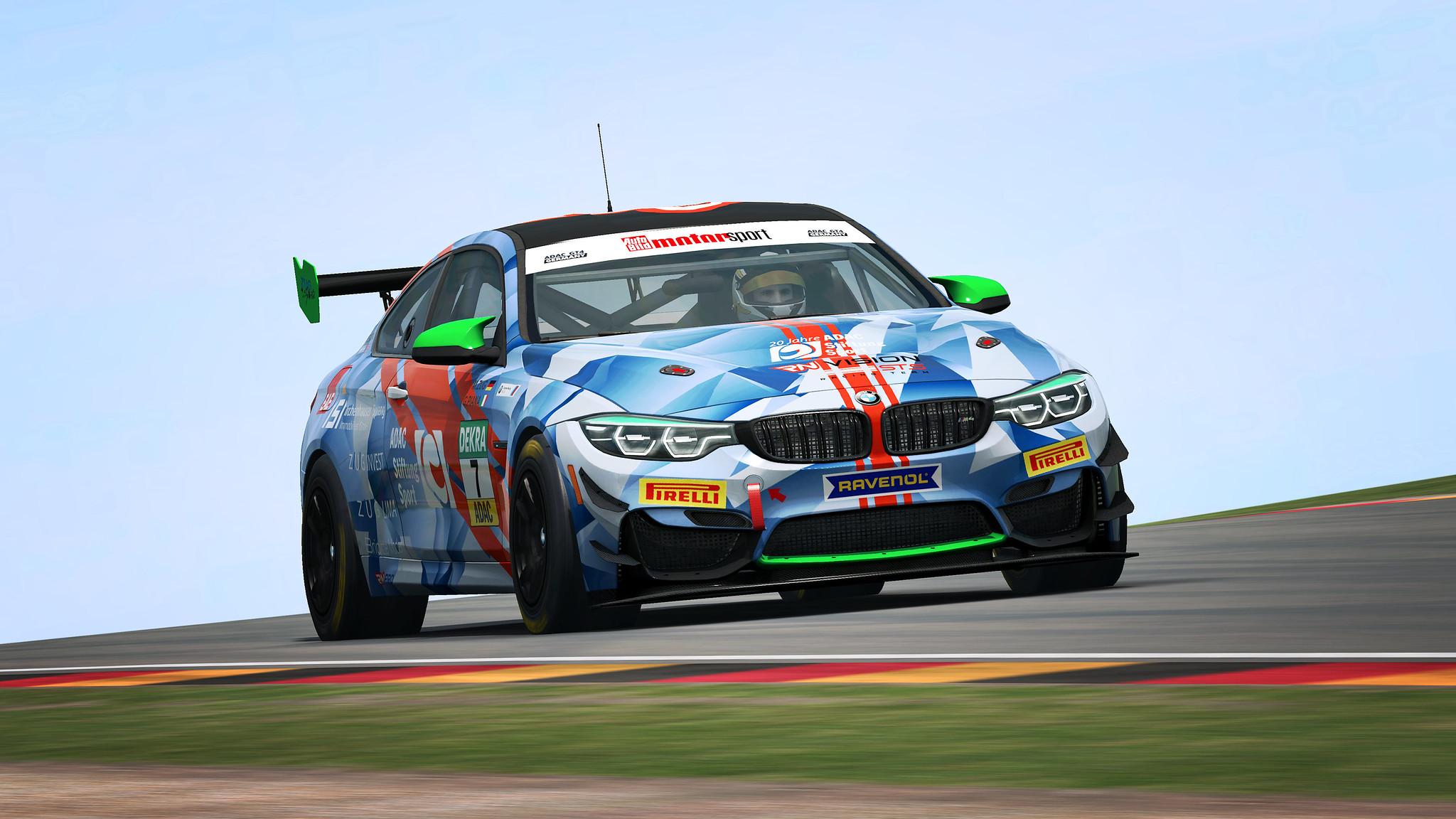 RaceRoom BMW M4 2