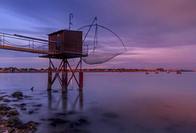 Carrelet de pêcheurs - Saint-Nazaire