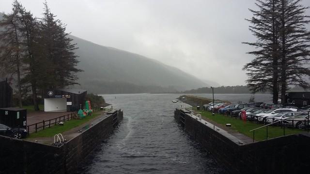 Laggan Locks, Caledonian Canal, Oct 2019