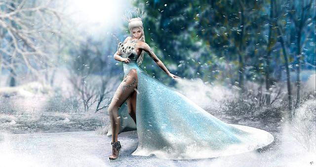Frosty nibbling
