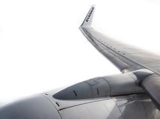 Wing tip, Ryanair.
