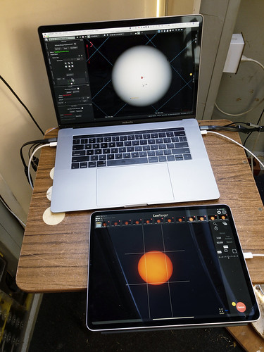 macbookpro theskyxprofessional softwarebisque ipadpro transitofmercury2019 camranger2