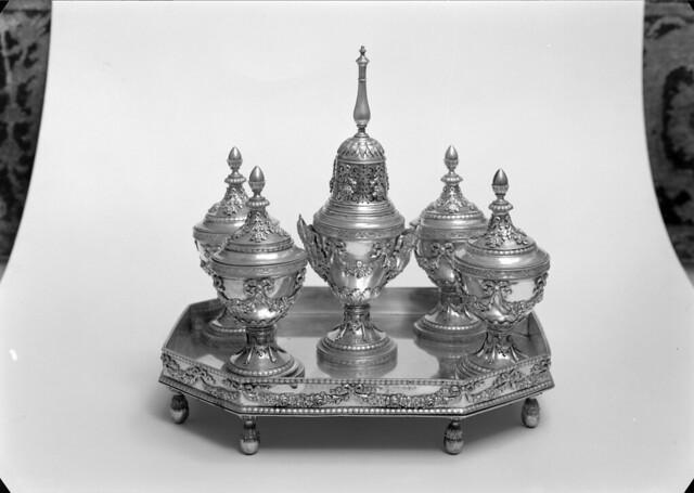 Escrivaninha em prata. Portugal