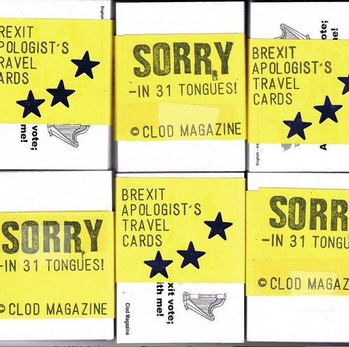 Brexit Apologist's Travel Cards