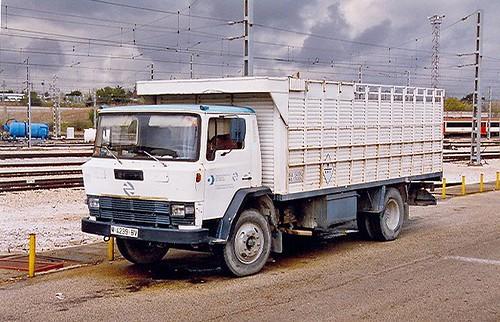 camió Ebro P Renfe
