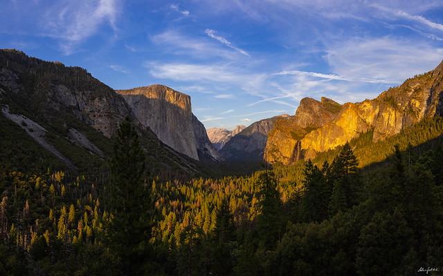 sunset mood in Yosemite