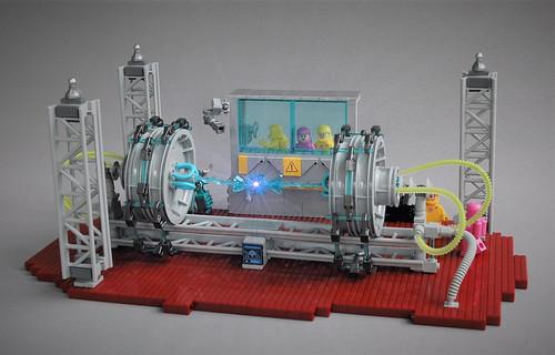 Power generator on Epsilon IV - New Elementary parts fest
