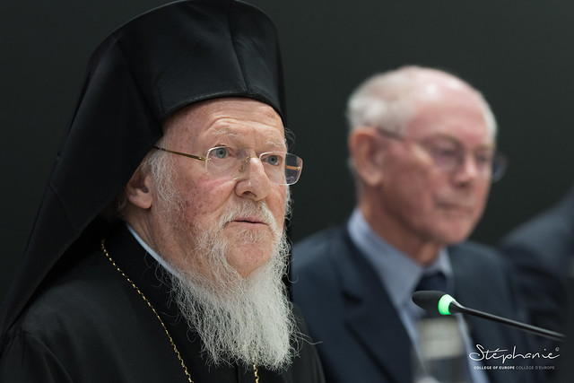High-Level Speech by His All-Holiness the Ecumenical Patriarch BARTHOLOMEW.11 November 2019