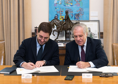 OAS and the IE School of Global and Public Affairs of Spain Sign Cooperation Agreement