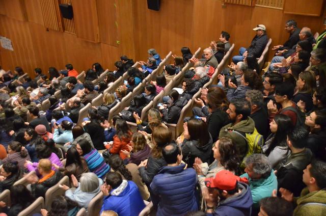 Asamblea y marcha triestamental - 24 de octubre 2019.