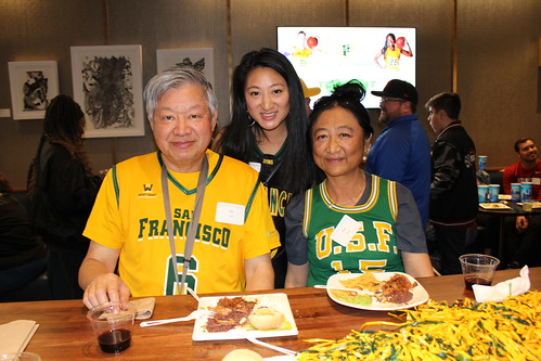 USF Dons Basketball Doubleheader: JP Morgan Club Reception