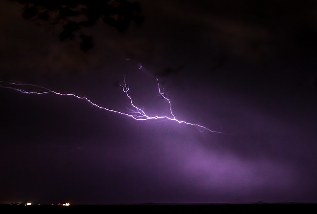 Nightstorm, seen from Bicentennial Park, Darwin, Northern Territory, Australia