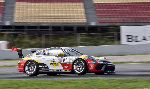 Porsche 911 GT3 Cup / Christophe LAPIERRE / FRA / Sébastien Loeb Racing Porsche / Carrera Cup FRANCE  / Carrera Cup BENELUX