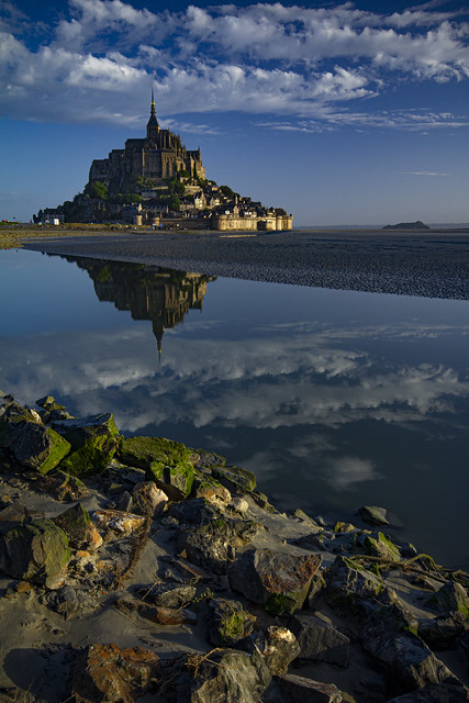 Sunrise at Mont Saint-Michel