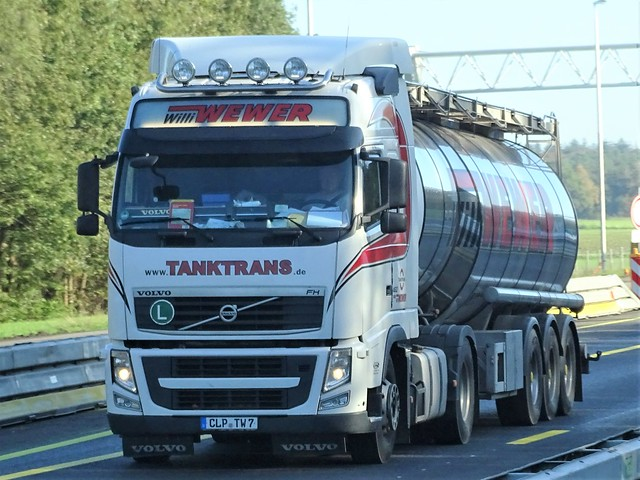 Volvo FH from Wewer tanktrans Germany.