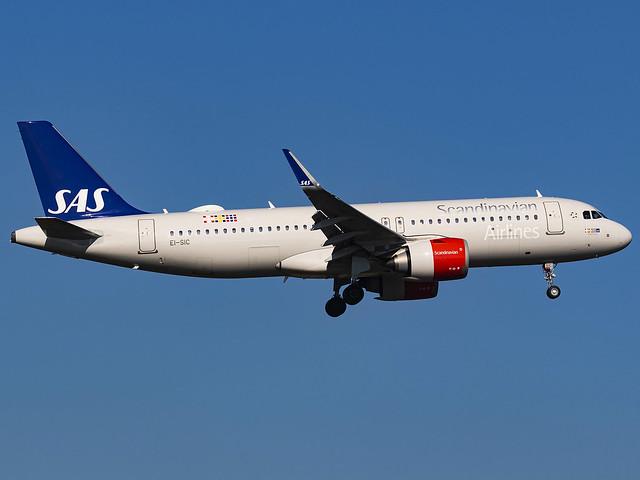 Scandinavian Airlines Ireland | Airbus A320-251N | EI-SIC