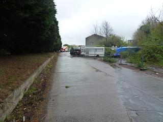 Entrance to Shoreham Cement Works
