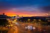 Atardecer Plaza Cibeles by Javichu Fotografia