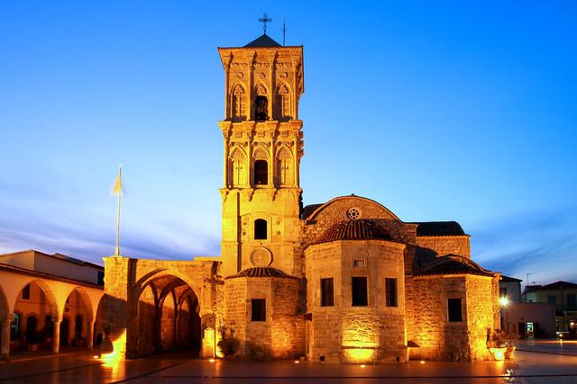 ABM (Another Blue Monday) / Church of Saint Lazarus, Larnaca, Cyprus