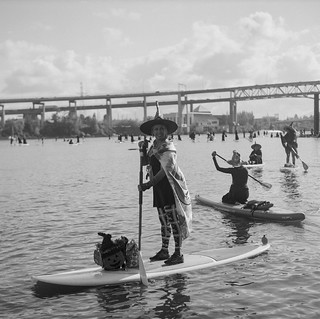 Stand Up Paddleboard Witch Paddle