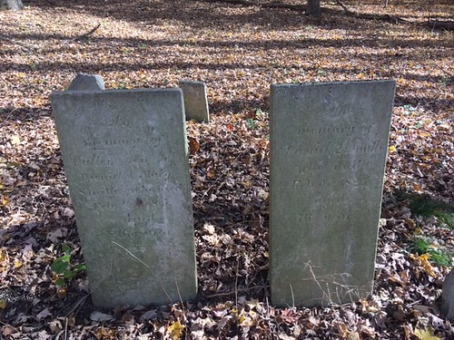 Mianus Burial Two Lage Graves
