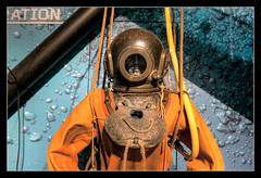 Belfast NIR - Titanic Belfast diving equipment 02
