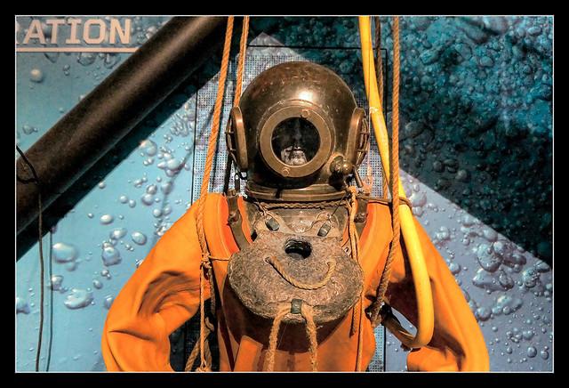 Belfast NIR - Titanic Belfast diving equipment 02