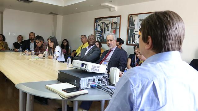 Conversatorio Cervantes y la ciudad de Argel se realiza en Caracas en el marco de la Filven 2019