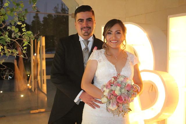 Se unen en matrimonio Blanca y Leonardo