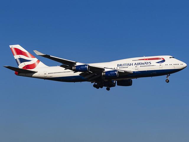 British Airways | Boeing 747-436 | G-BNLN