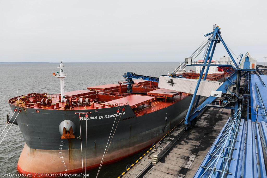 Ростерминалуголь - самый современный угольный терминал на Балтике