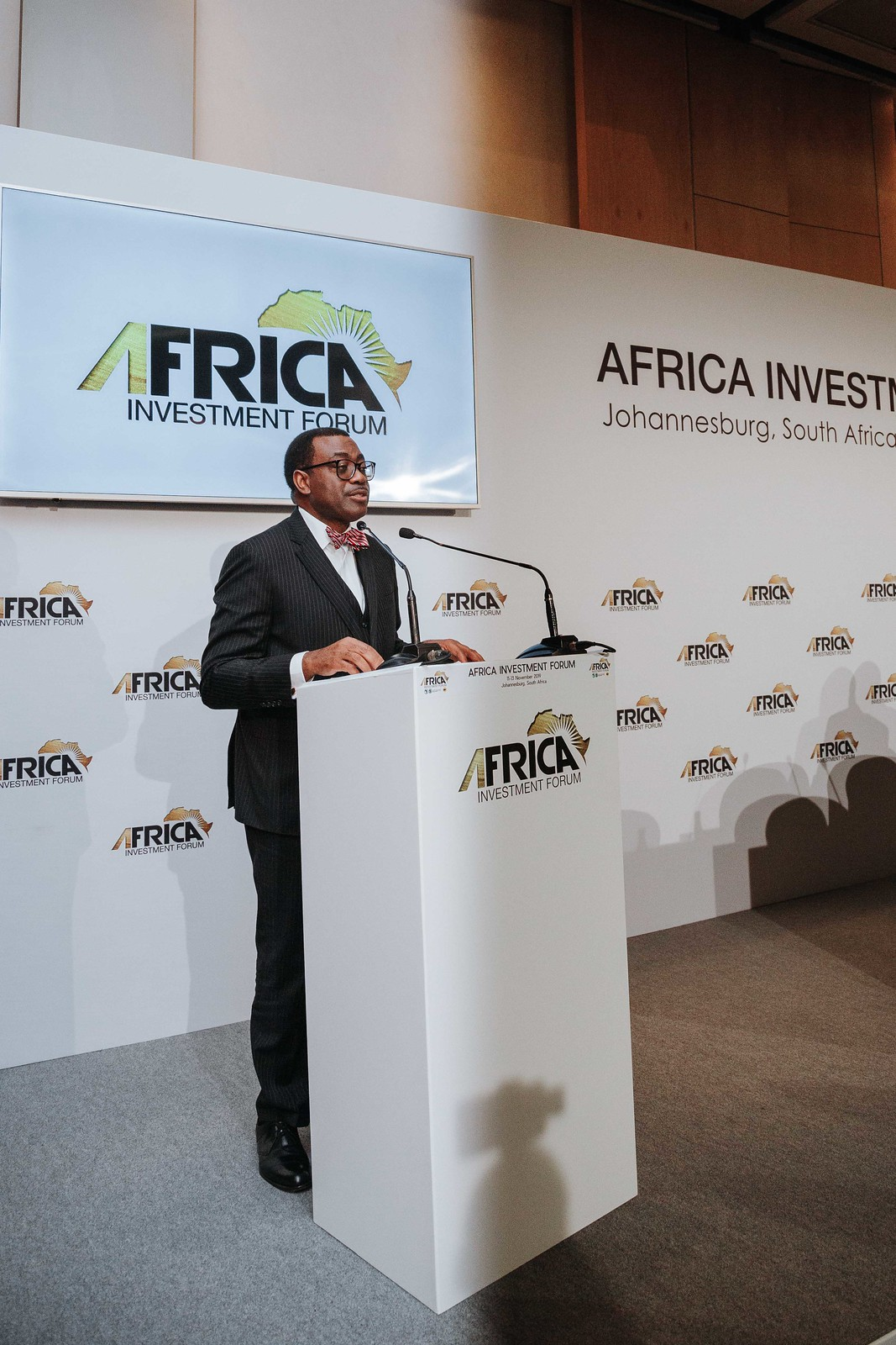 Africa Investment Forum 2019: Signing ceremony of the road-rail bridge between Kinshasa and Brazzaville and the extension of the Kinshasa-Ilebo railway