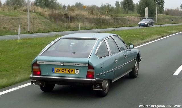 Citroën CX 2400 Pallas 1980
