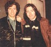 Rory Gallagher & his brother Dònal Gallagher - ca.1980s