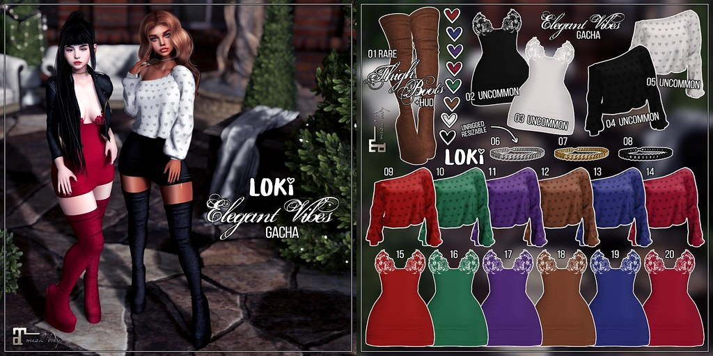 Loki • Elegant Vibes GACHA • ACCESS | November '19