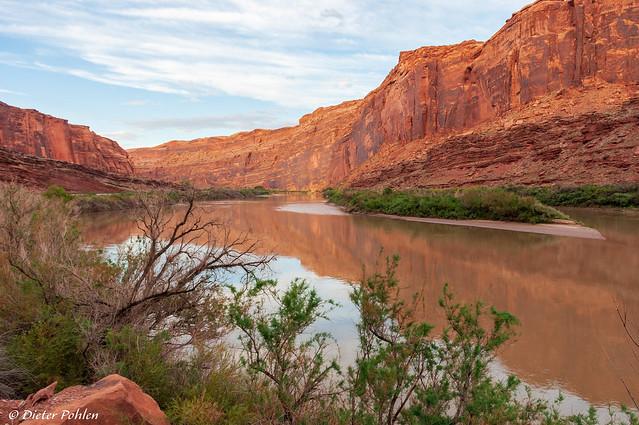 Am Colorado River nähe Moab