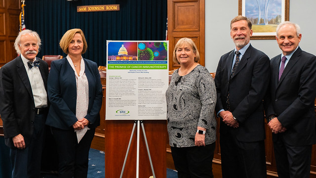 """SITC co-hosts a briefing on """"The Promise of Cancer Immunotherapy"""""""