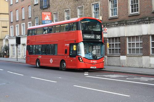 Arriva London HV327 LJ17WOU