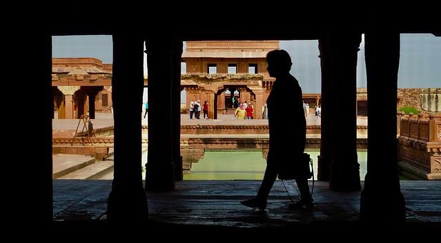 The ancient capital of Fatehpur Sikri. 27/10/2019.
