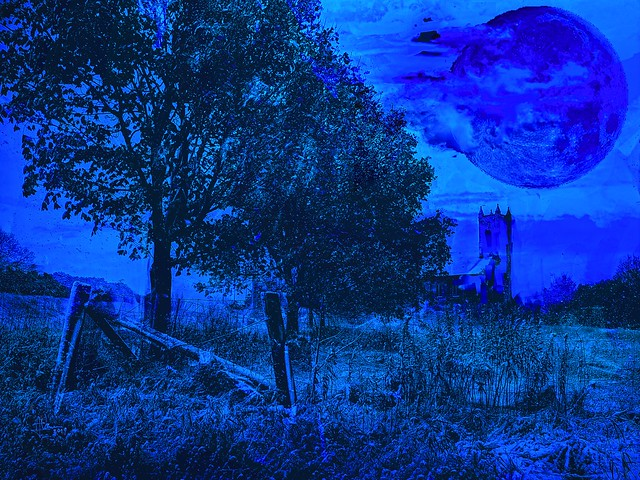 Blue Moon over Barriefield