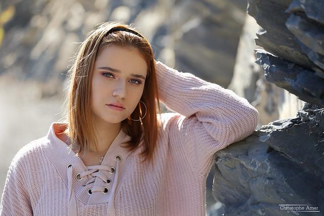Laureen (6a) - Curbans - Octobre 2019